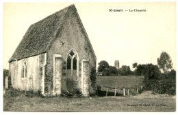 61250 SAINT-CENERI - La Chapelle - Au Loin, L'église, Jolie Carte En Bon état - France