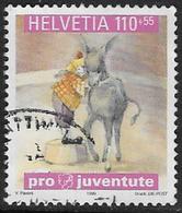 Switzerland SG J352 1999 Pro Juventute 110+55c Good/fine Used [2/1068/7D] - Pro Juventute
