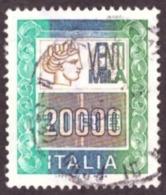 Italie 1987 -  Siracusa  - HIGH VALUE 20000 L - TB - Cote € 12.00 - 1981-90: Oblitérés