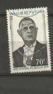 181  DE GAULLE                (clasyverouge20) - Wallis Und Futuna