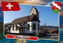 Postcard, REPRODUCTION, Municipalities Of Switzerland, Ursenbach - Landkaarten