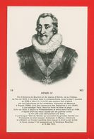 1774- PERSONNAGES CELEBRES - HENRI IV - Histoire
