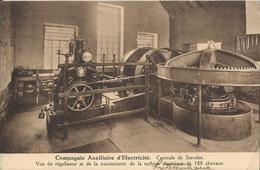 Stavelot - Compagnie Auxiliaire D'Electricité - Centrale De Stavelot 1939 - Stavelot