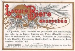"7236"" LEVURE DE BIERE DESSECHEE "" ETICHETTA ORIGINALE - Sonstige"