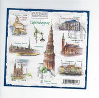 F 4637 Capitales Européennes Copenhague Oblitéré 1er Jour 2012 - Blocs & Feuillets