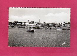 85 Vendée, CROIX DE VIE,  Le Port, Animée, Bateaux, Usine, (Jehli-Poupin) - Saint Gilles Croix De Vie
