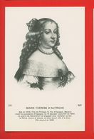 1780 - PERSONNAGES CELEBRES - MARIE-THERESE D'AUTRICHE - History