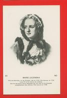 1782 - PERSONNAGES CELEBRES - MARIE LECZINSKA - Histoire