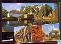 Sri Lanka Postcards, Anuradhapura, Isurumuniya, UNESCO, Postcrossing - Sri Lanka (Ceylon)