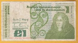 Eire - Irlande - Billet De 1 Pound - Medb - 22 Mars 1984 - P70c - Dänemark