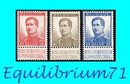 123/125* - Grande Effigie / Grote Beeltenis - BELGIQUE / BELGIË - 1912 Pellens