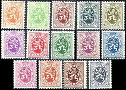 276/288A* - Lion Héraldique / Heraldieke Leeuw - BELGIQUE / BELGIË - Unused Stamps