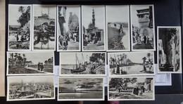 Le Caire - CAIRO - Egypte - Lot De 13 Photos Cartes - Format: 15/7.5cm - 2 Scans - Caïro