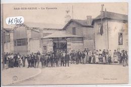 BAR-SUR-SEINE- LA VERRERIE- LES OUVRIERS - Bar-sur-Seine