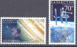 2003. Kazakhstan, Cosmonautics Day, 2v, Mint/** - Kazakhstan