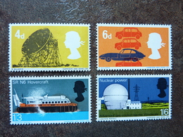 1966  British Technology   SG = 701/ 704  ** MNH - 1952-.... (Elizabeth II)