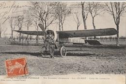 Aviation - CLERMONT FERRAND - Nos Aviateurs Clermontois - Eug. GILBERT - Camp Des Gravanches - Aviateurs