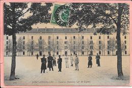 Fontainebleau - Caserne Damesne (46è De Ligne) - Fontainebleau