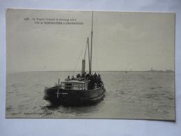LE VAPEUR FAISANT LE PASSAGE ENTRE L'ILE DE NOIRMOUTIER ET FROMENTINE N°1486 - Ile De Noirmoutier