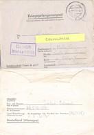 GUERRE 39-45 Cor. PRISONNIER DE GUERRE STALAG VI 326 (VIK) CAMP DISCIPLINAIRE  Forellkrug über Paderborn, Varburg 10.43 - Marcophilie (Lettres)