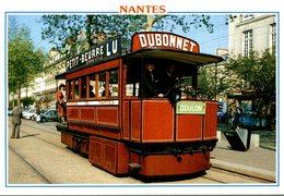 44 NANTES ANCIEN TRAMWAY DE 1879 - Nantes