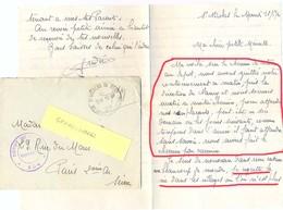 GUERRE 39-45 DÉPOT DE GUERRE * 204 * ST NICOLAS DU PORT MEURTHE ET MOSELLE TàD HOROPLAN 13-6-1940 Avec COURRIER - Marcophilie (Lettres)
