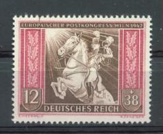 11363 DR Nr. 822 Plattenfehler I ** MNH Postillion 110 Euro Michel - Allemagne