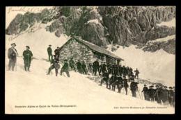 05 - BRIANCONNAIS - CHASSEURS ALPINS AU CHALET DU VALLON - Briancon