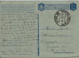 FRANCHIGIA POSTA MILITARE 3500 CONC MESSINA 1942 AEROPORTO 509 AUGUSTA IDRO - Militärpost (MP)
