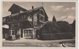 CPA : Suisse , Hôtel Lötschberg , Spiez - Hotels & Restaurants