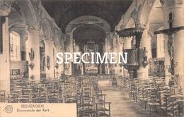 Binnenzicht Der Kerk - Zevergem - De Pinte