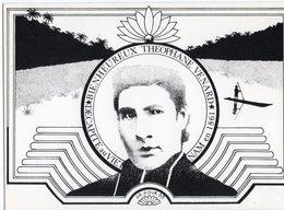 AR ROUE BIENHEUREUX THEOPHANEVENARD  DECAPITE AU VIETNAM EN 1861 1988 - CARTOLISTE N° 83  TIRAGE LIMITE 150 EX - Andere Zeichner