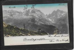 AK 0459  Brentagruppe - Verlag Stengel & Co Um 1900-1910 - Trento