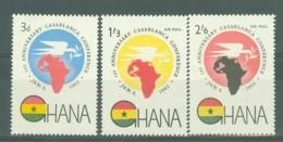 Ghana: 1962   First Anniv Of Casablanca Conference   MH - Ghana (1957-...)