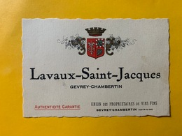 13153 - Lavaux-Saint-Jacques Gevrey-Chambertin - Bourgogne
