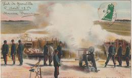 Militaire Militaria :    L'  Armée  Française , Artilerie  De  Forteresse , Pièce Feu ,fort De  Gironville - Militares