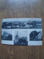 51991: PC: CZECH REPUBLIC: Gruss Aus Uittwa (Bohmen) Herm Pfannerer's Gemischtwarenhandig - Kircha - Schule - Pays De Galles