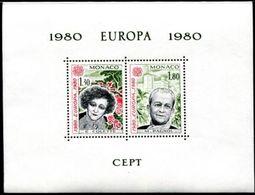 (*) Timbres EUROPA CEPT MONACO De 1980 N° Y&t  BLOC SPECIAL Neuf(s) ** Mnh LUXE & RARE - 1980