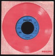 ANGE - SP - 45T - Disque Vinyle - Caricatures - 6837077 - Promo - Rock