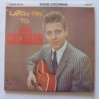 "LP/  Eddie Cochran - ""Latch On"" To Eddie Cochran  /  1982 - 2 LP - Rock"