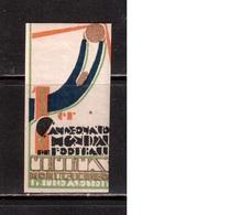 World Cup-1930, Uruguay,  Vignette , Football, Soccer, Fussball,calcio, MHN(**/*) - (4) - Fußball-Weltmeisterschaft