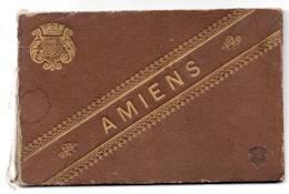 80 - AMIENS - Carnet De 12 Cartes (format Dépliant) - Amiens