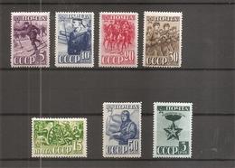 Russie ( Lot De 7 Timbres Différents De 1941 X -MH) - Nuovi