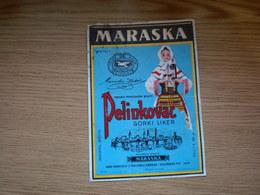 Makarska Pelinkovac Zadar - Etiketten