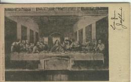 Postal 000160 : Milano- Il Cenacolo (Da Vinci) - Cartes Postales