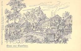 Engelhaus B. Karlsbad -  Stellwagen-Verbindung - Boehmen Und Maehren