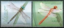 ALAND 2012 Libellen Serie PF-MNH-NEUF - Aland