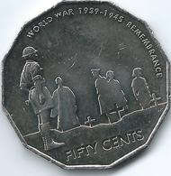 Australia - 2005 - Elizabeth II - Remembrance - End Of World War II - KM746 - Decimal Coinage (1966-...)