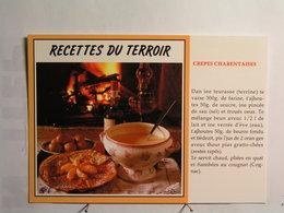 Recettes Charentaises (cuisine) - Crèpes Charentaises - Recettes (cuisine)