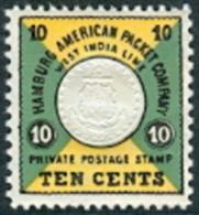 Deens West Indië 1955 Herdruk HAPAG PF-MNH - Danimarca (Antille)